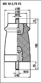 Изоляторы опорные ИО-10-3,75 УЗ