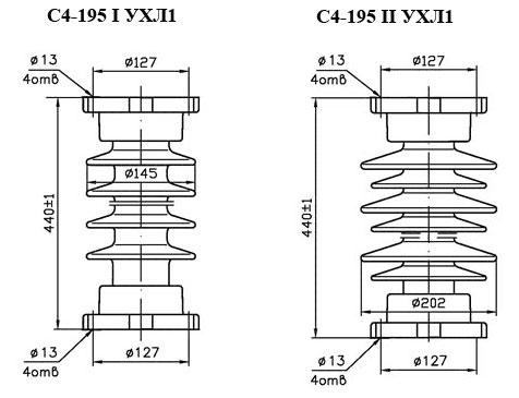 Изоляторы С4-195