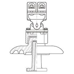 ШОС-10 - стеклянные шинные опоры