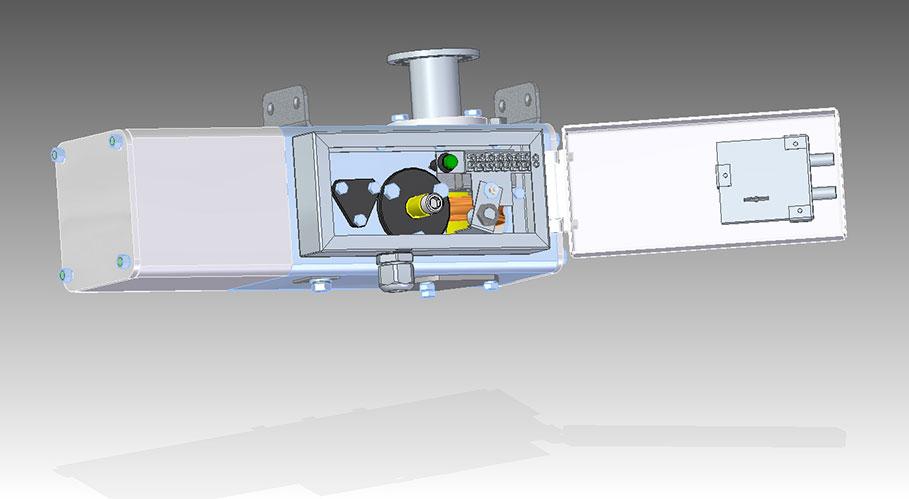 Моторный привод УМП 4